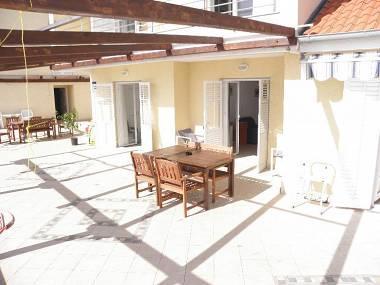 A1(4+2): terrace - 5485 A1(4+2) - Ljubac - Zadar County - rentals