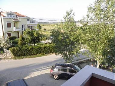A3(2+2): terrace view - 5665 A3(2+2) - Ljubac - Zadar County - rentals