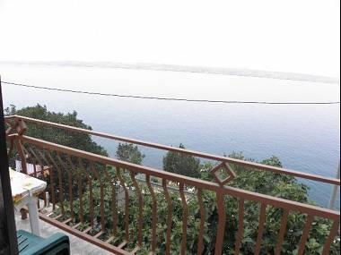 A2(4): terrace view - 5794  A2(4) - Lukovo Sugarje - Croatia - rentals