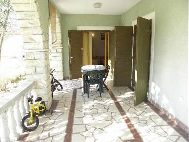 A2(3+1): covered terrace - 5999 A2(3+1) - Vrsi - Vrsi - rentals