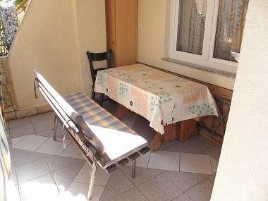 A1(2+2): terrace - 6019 A1(2+2) - Sabunike - Privlaka - rentals