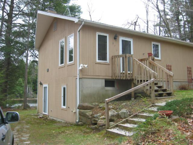 Outside of house - Berkshires on the Pond - Becket - rentals
