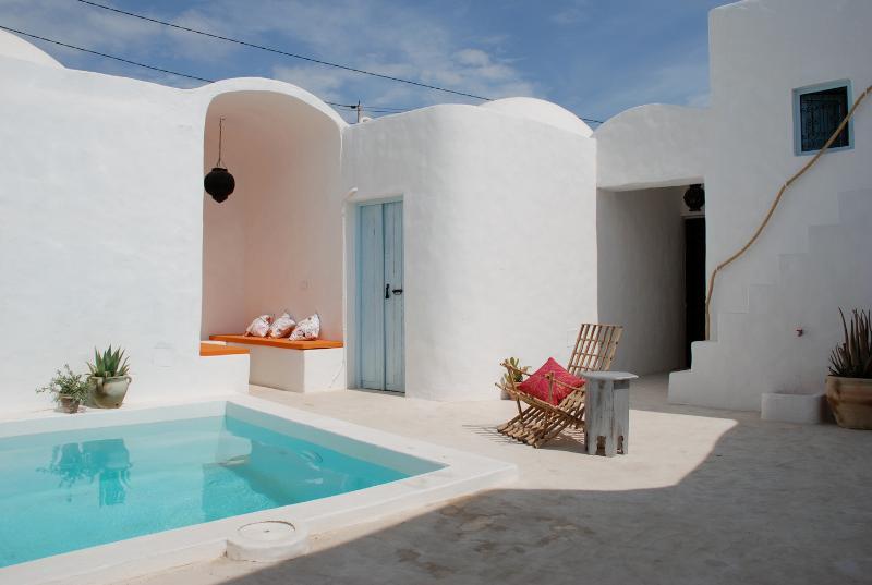 inner courtyard with plunge pool - DAR FARAH - SAFRAN - Erriadh - rentals