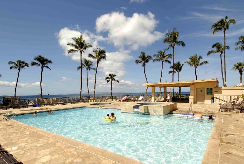 Sugar Beach Resort 1 Bedroom Beach Front Ground FL 140 - Image 1 - Kihei - rentals