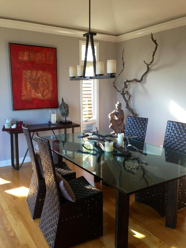 Dining Room (2) - Spacious modern house southern part of town, BART - San Francisco - rentals