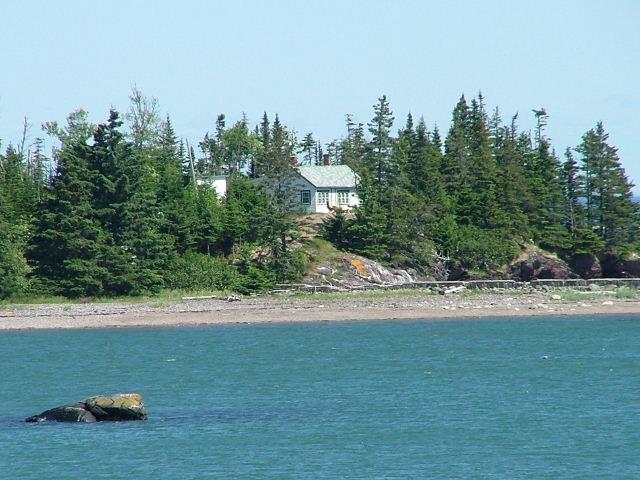 Cottage from Cove View - Bay of Fundy Seaside Cottage - New Brunswick - rentals