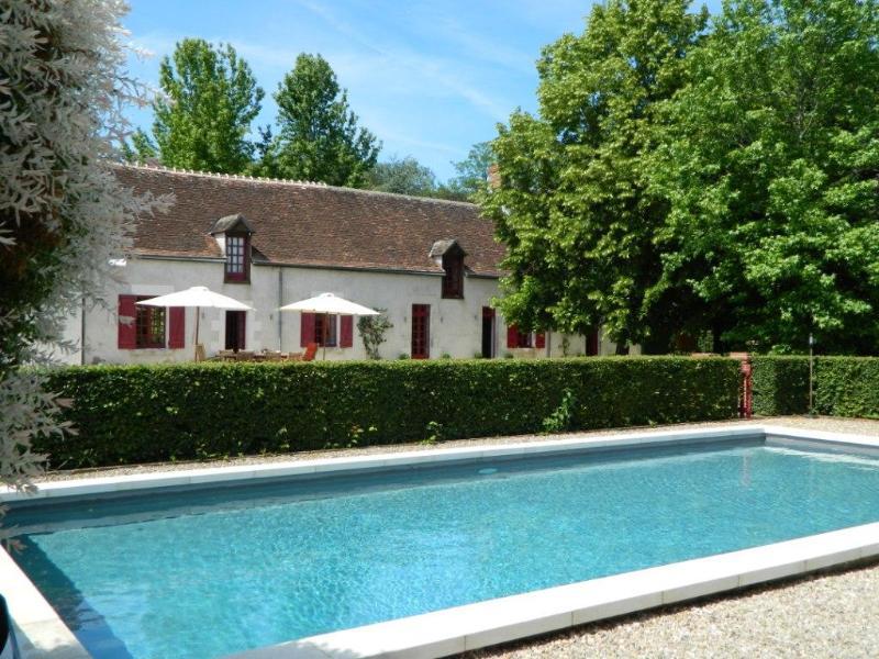 The swimming pool - B&B Le Bout du Monde (250 km from Paris) - Villedieu-sur-Indre - rentals
