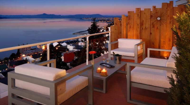 Terrace - AMAZING OUTDOOR AREA ! Astonishing Lake Views! - San Carlos de Bariloche - rentals