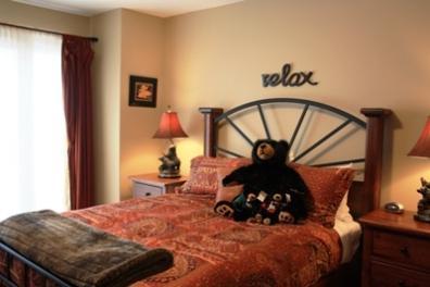 Master Bedroom - Trapper's Landing Townhouses - 20 - Sun Peaks - rentals