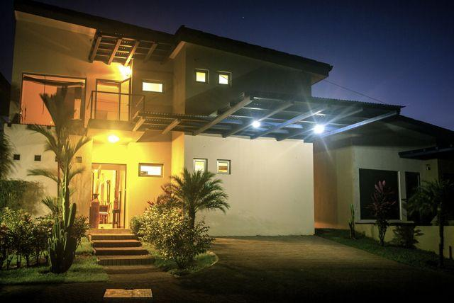 Front Entrance of Villa - Costa Rica -Luxury Villa Estates - Uvita - rentals