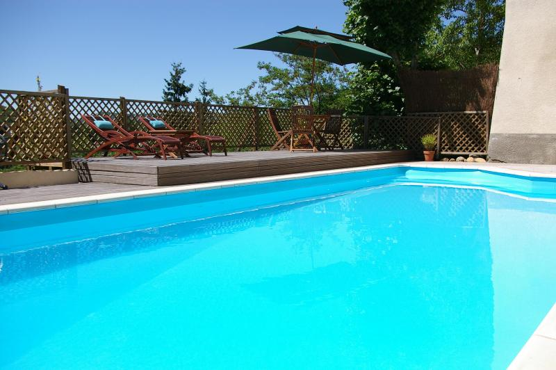 Swimming Pool - B&B - lovely pool & views just 10min walk to Foix - Foix - rentals