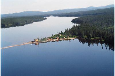 View of private Lac Perdu with 88 mi of shoreline - Lac Perdu Exclusive Private Lake - Henderson - rentals