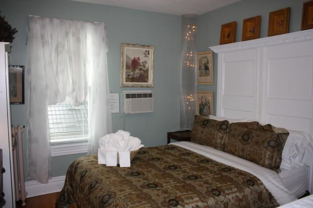 Jacuzzi & Fireplace Suite (Couples Only - No Children) - Bed & Breakfast - (Jacuzzi / Fireplace / Queen Bed) - Dr Mitchell Suite - Ellis House - Buffalo - rentals