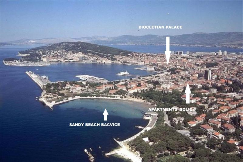 SANDY BEACH & CENTRE APARTMENT - Image 1 - Split - rentals