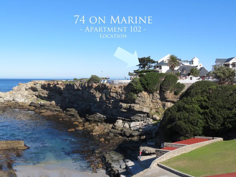 Perfect Location with Great Views as well as Walking distance to shops - 74 on Marine - Apartment 102 - Hermanus - rentals