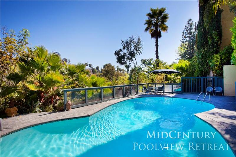 MidCentury Poolview Retreat - Image 1 - Los Angeles - rentals