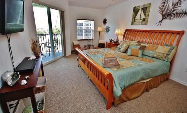 Master Bedroom - Oceanwalk 15-403 - New Smyrna Beach - rentals