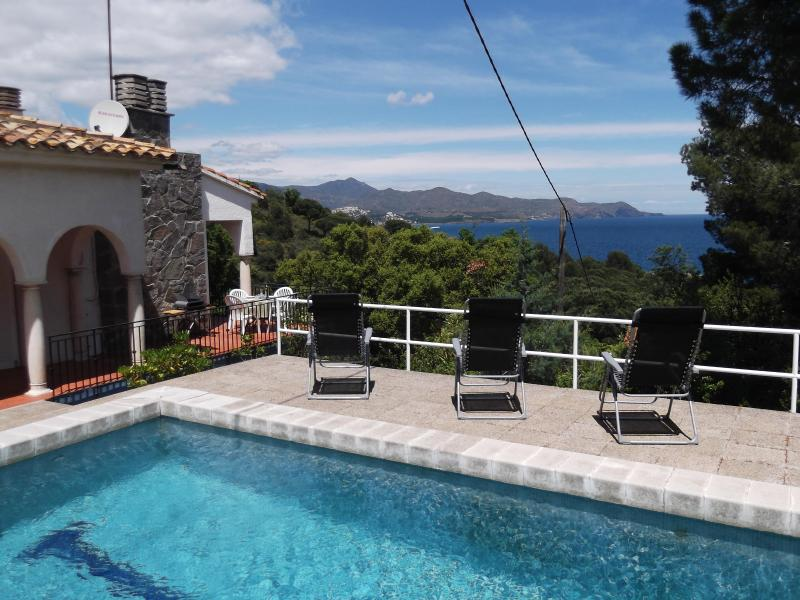 Villa San Miguel with stunning Mediterranean views - Villa in El port de la Selva,private pool,sea view - El Port de la Selva - rentals