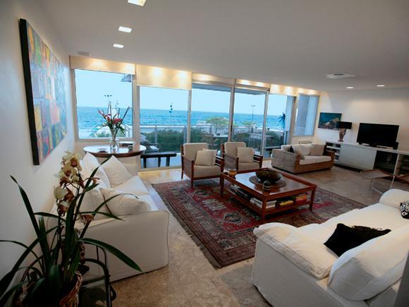 living room - IPANEMA OCEANFRONT - Rio de Janeiro - rentals