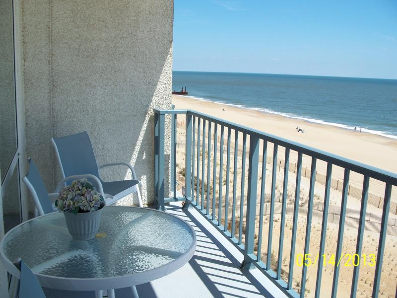 Balcony - Oceanfront Beach Property Weekly Rentals Only - Rehoboth Beach - rentals