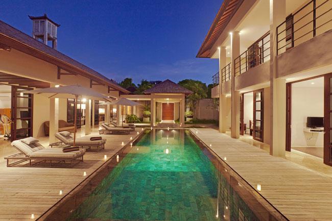 View of swimming pool from the bale - Villa Teana - 4 Bedroom Luxury Villa in Jimbaran - Jimbaran - rentals