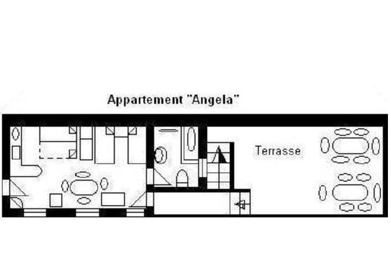 O2 Grundriss - Studio O2 Angela - Hesse - rentals