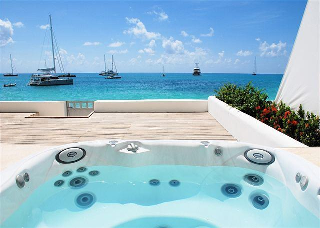 Aqualina 2 Bedroom Beachfront Condo on Simpon Bay Beach | Island Properties - Image 1 - Saint Martin-Sint Maarten - rentals