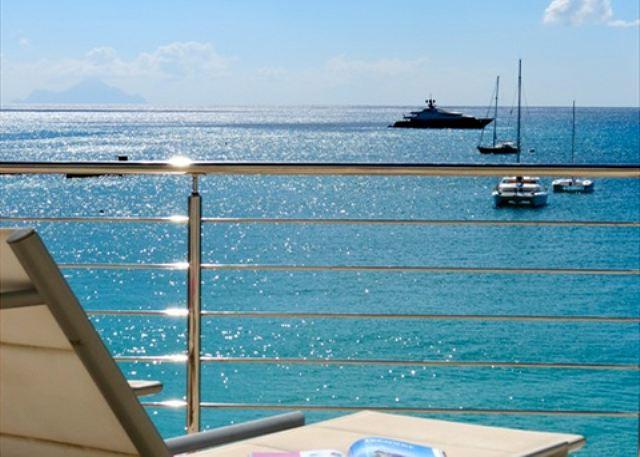 Aqualina Beach Club Unit 401 - Luxury One Bedroom Condo on Simpson Bay Beach! - Image 1 - Saint Martin-Sint Maarten - rentals