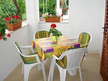 A1(4+1): terrace - 8079 A1(4+1) - Orebic - Orebic - rentals
