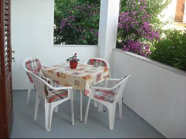 A2(3+2): terrace - 8079 A2(3+2) - Orebic - Orebic - rentals