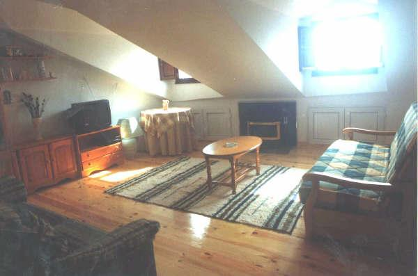 living room - BIELVA, ATTIC WITH NICE VIEW NEXT THE COAST. - Rabago - rentals