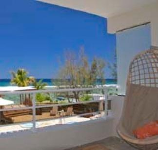 Tamarin Beach Apartments Mauritius: Duplex' sea view from Master Bedroom's balcony - 5, Tamarin Beach Apartments Mauritius - Tamarin - rentals