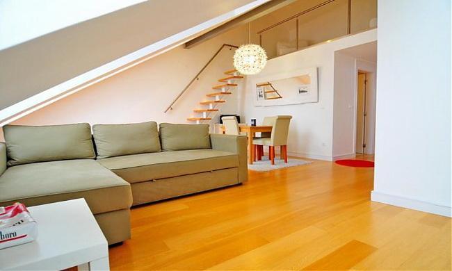 Living room - Graça Charm - Lisbon - rentals