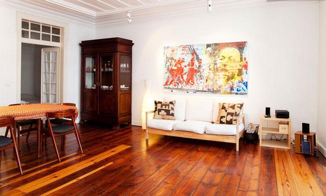 Living room - Alecrim 33 - Lisbon - rentals