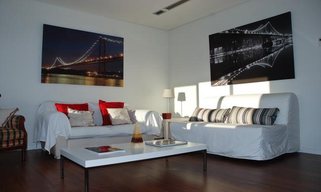 Living room - Family & Friends - Lisbon - rentals