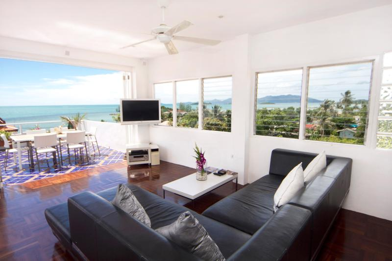 $million view from the Penthouse living area - Celebrity Ocean View Mansion 3 bed or 4 bed - Koh Samui - rentals