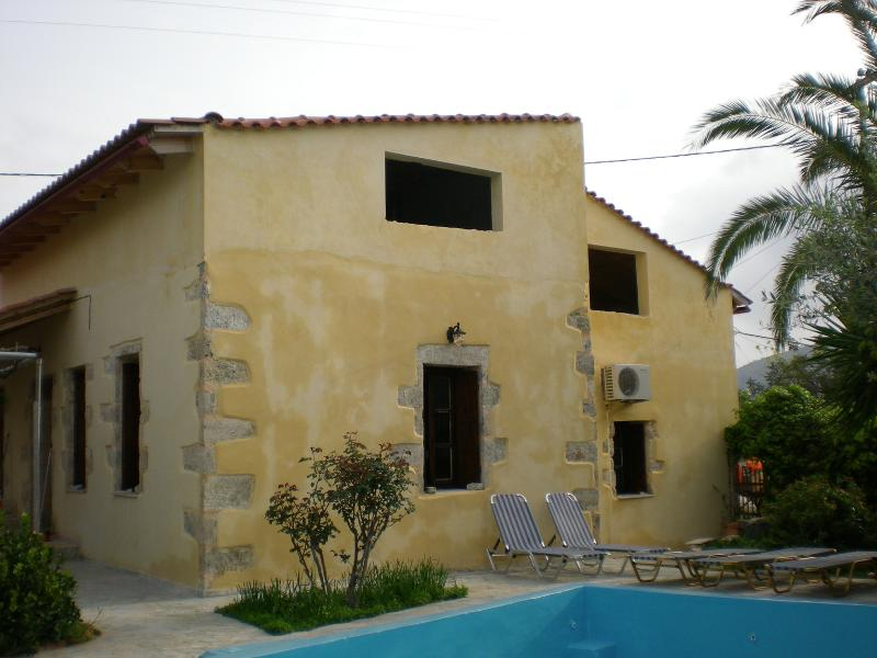 Petros' House - southern view & partial pool - Petros' House - Chania - rentals