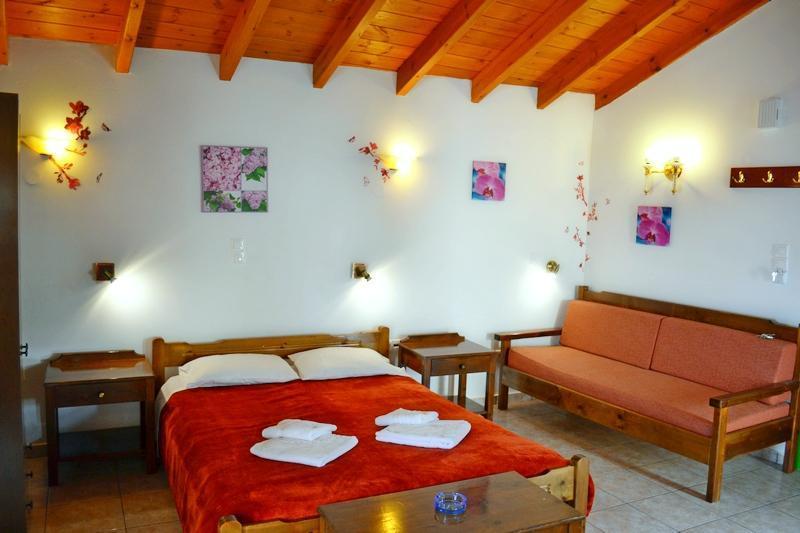 Bedroom - Loft studio,in Melina's House.Stalos,Chania Crete - Chania - rentals