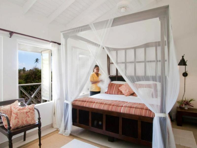 The master bedroom - Luxury Plantation Cottage at Firefly Bequia - Bequia - rentals