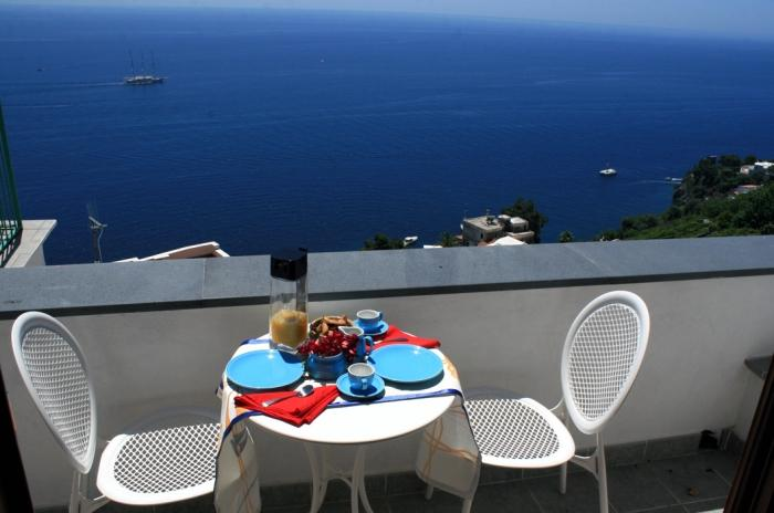Terrace of Casa Giove in Amalfi - Casa Giove recently renovated house Amalfi - Amalfi - rentals