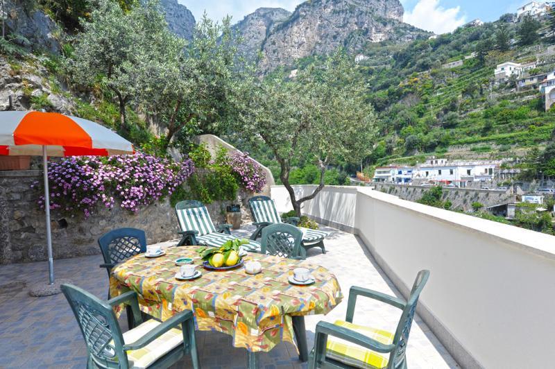 Casa Orizzonte large terrace enchangting scenery - Image 1 - Amalfi - rentals