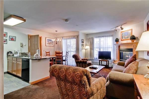 Comfortably Furnished Breckenridge 1 Bedroom Ski-in - E219F - Image 1 - Breckenridge - rentals
