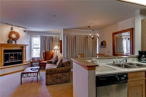 Comfortably Furnished Breckenridge 2 Bedroom Ski-in - RE222 - Image 1 - Breckenridge - rentals