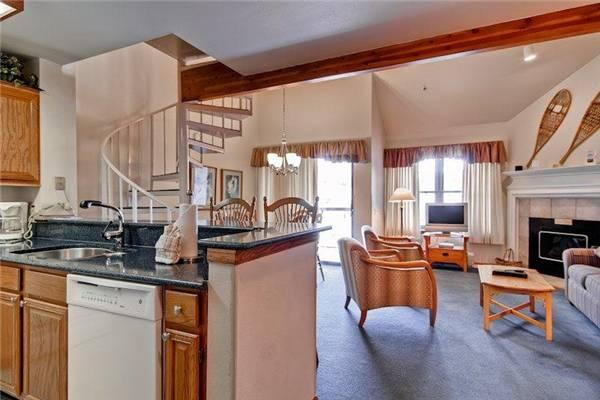 Comfortably Furnished Breckenridge 1 Bedroom Ski-in - RE301 - Image 1 - Breckenridge - rentals
