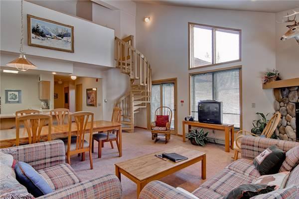 Living Room - TIIC433 - Breckenridge - rentals