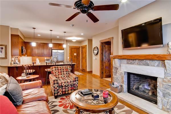 Elegant Breckenridge 3 Bedroom Walk to lift - WE308 - Image 1 - Breckenridge - rentals