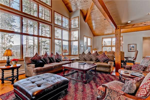 Comfortably Furnished Breckenridge 6 Bedroom Ski-in - WRL - Image 1 - Breckenridge - rentals