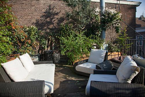Roof terras - Spacious apartment with a huge roof terras - Amsterdam - rentals