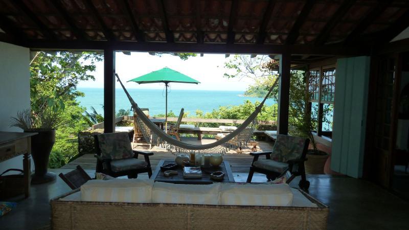 Central terrace, deck and the incredible view!  - Unique house with breathtaking view on the sea! - Paraty - rentals