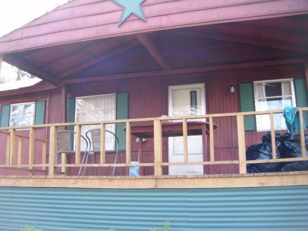 Covered Front Porch - Vacation Rental at Lake Texoma - Gordonville - rentals